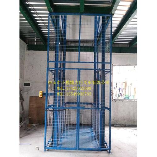 导轨链条式升降货梯2